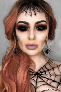maquillage-sorciere-araigne